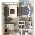 The Magnolia  One Bedroom | One Bathroom 600 Sq. Ft.
